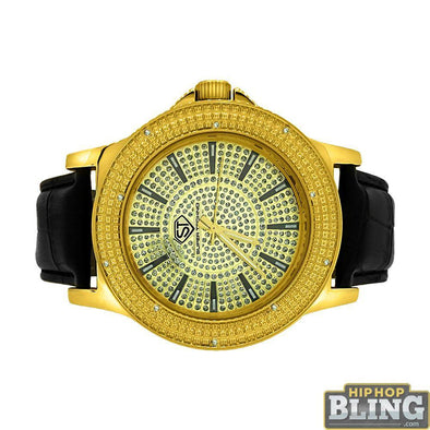 Classic Super Techno Diamond Watch Hip Hop Style