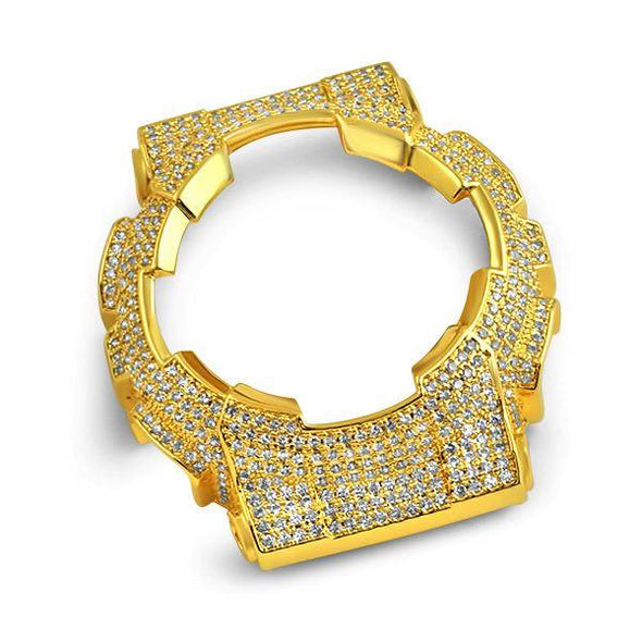 Bling Bling CZ Gold Bezel for Casio Baby G Shock