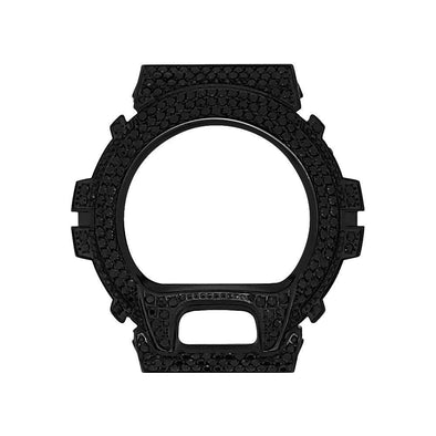 Black CZ Stainless Steel Bezel Case For Casio G Shock DW6900