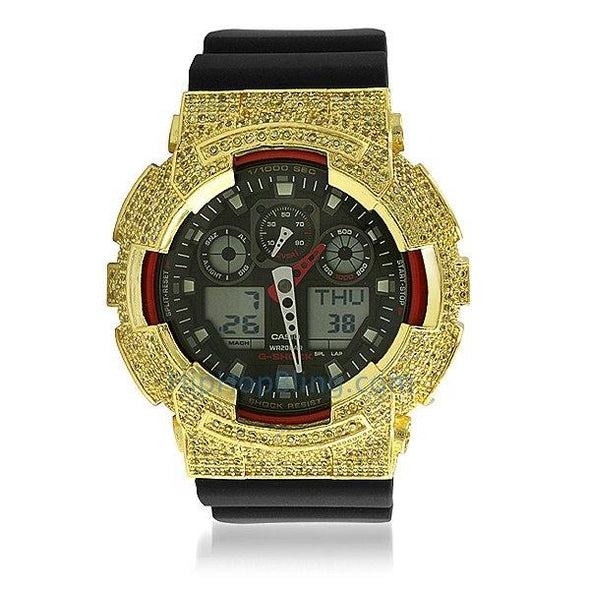 Lemonade CZ Custom Casio G Shock Watch GA100