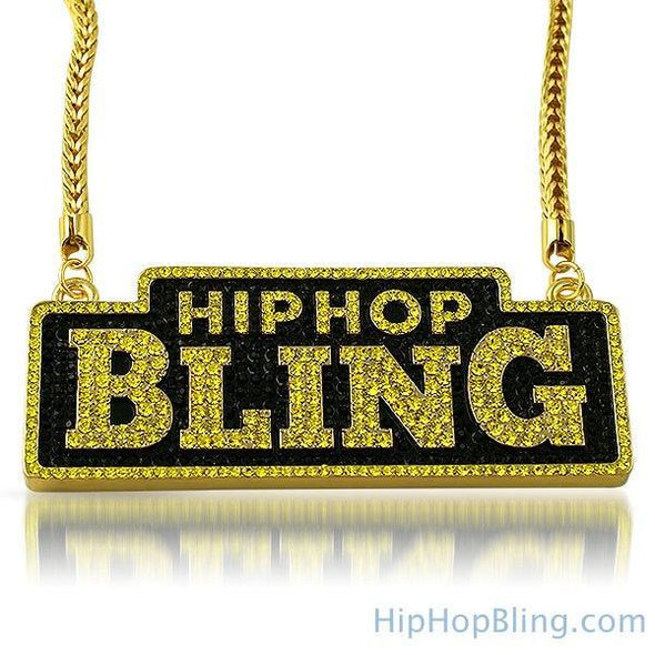 Hiphopbling New Logo Lemonade Bling Chain
