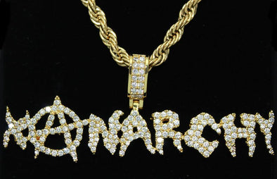 Xanarchy Iced Out Official Pendant & Chain | Lil Xan