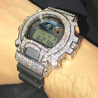 Bling Bling Custom CZ G Shock 6900 Watch