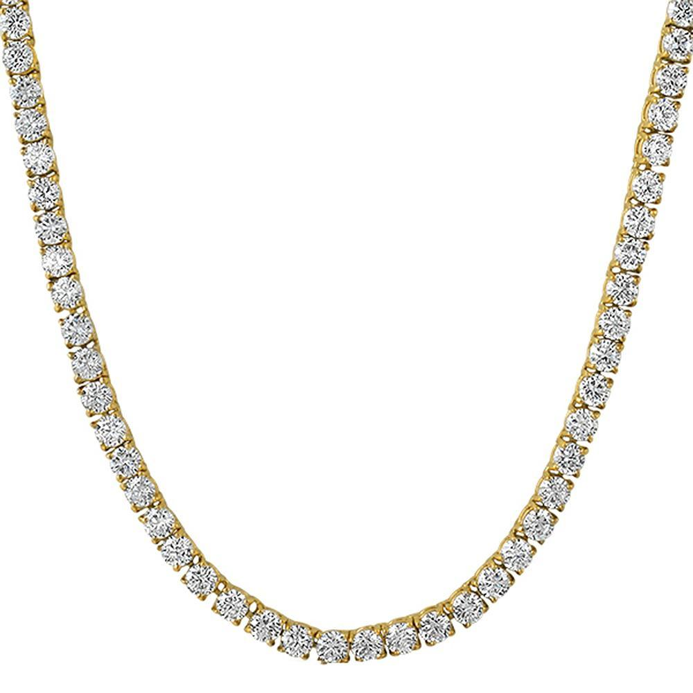 925_Silver_4MM_CZ_Bling_Tennis_Chain_Gold