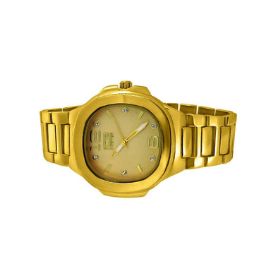 Gold Modern Fashion Metal Band Watch
