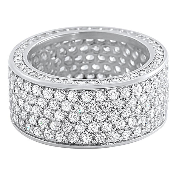 360 Eternity CZ Bling Bling Ring