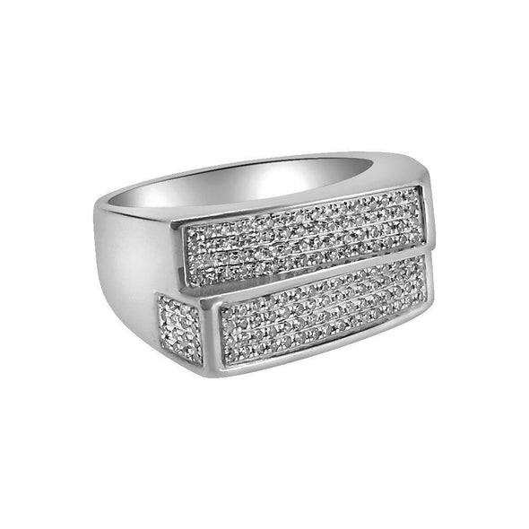.52 Carat Diamond Double Bar Ring