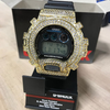 Bling Bling Custom Casio G Shock Watch Gold
