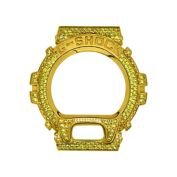 Yellow Stainless Steel Case Bezel for Casio G Shock DW6900