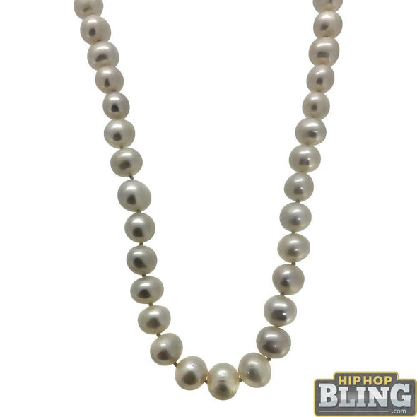 Freshwater Cultured Pearl Necklace 10MM