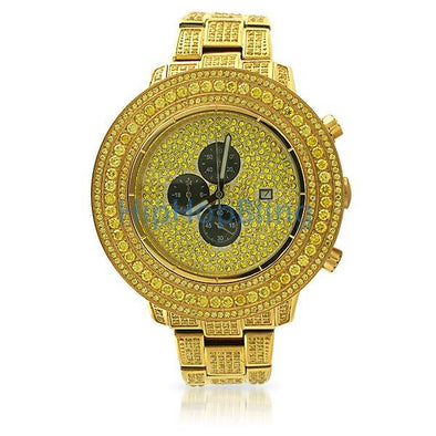 Custom Lab Made Lemonade Hip Hop Watch All Iced Out