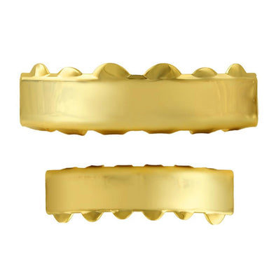 Gold Grillz Bar Style Set