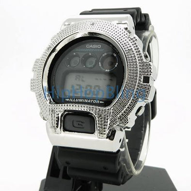Real Diamond .10cttw Custom G Shock Watch