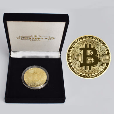 24K Gold Plated Collectable Coin