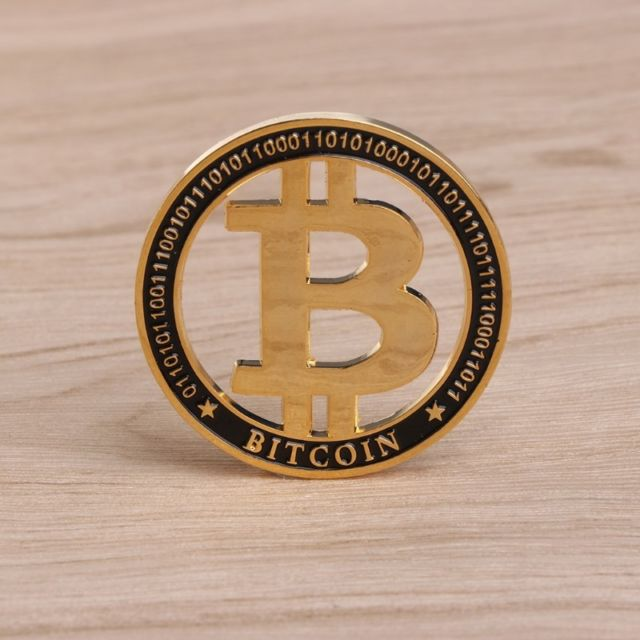 Hollow Bitcoin Commemorative Coin