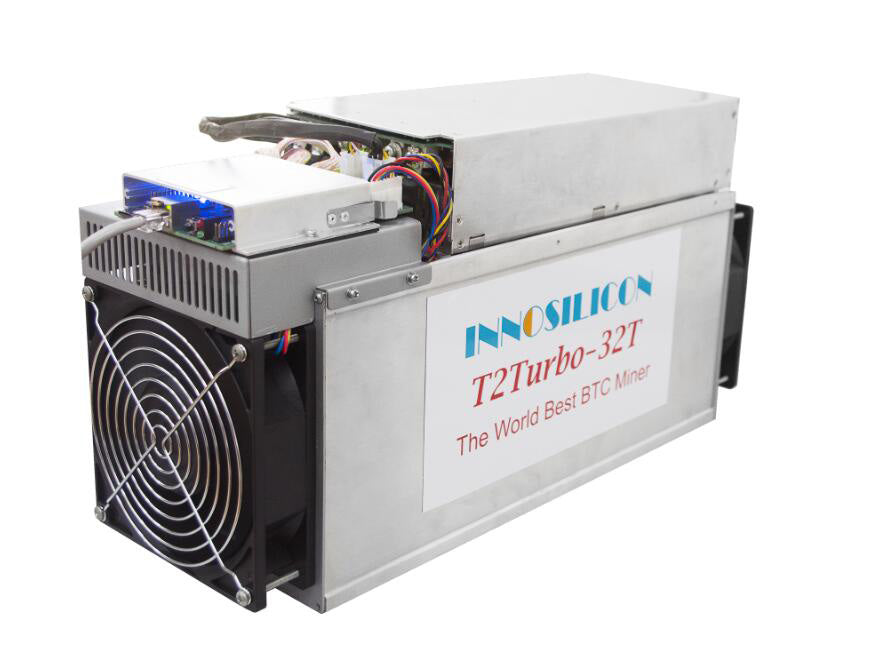 Innosilicon T2 Turbo+ (T2T+) Miner