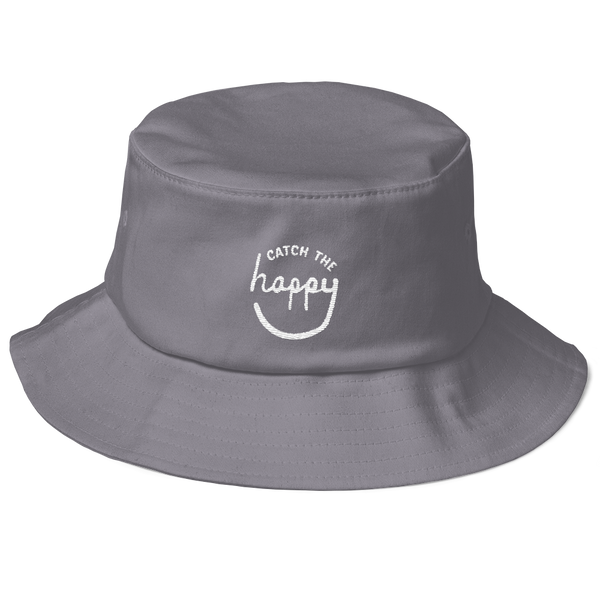 Old School Bucket Hat - Dark