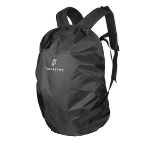 Water resistant backpack & bicycle back-basket cover (dual use)