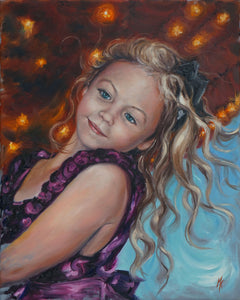 Whimsy. Original Oil Painting