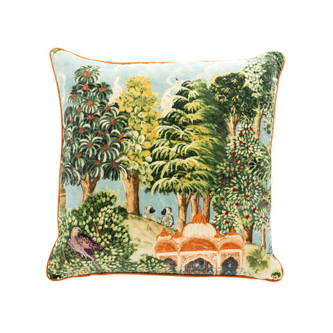 Custom Temple Garden Cushion