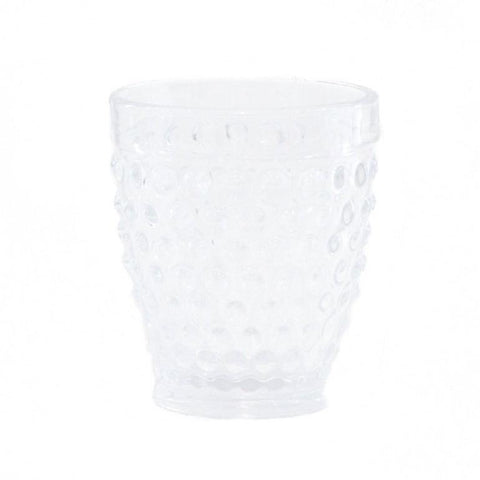 Hobnail Dot Glass
