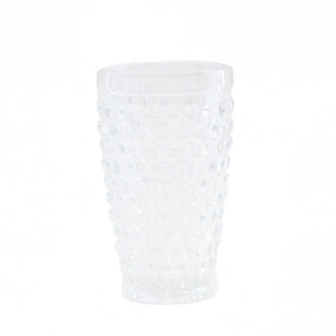 Hobnail Dot Glass Tall