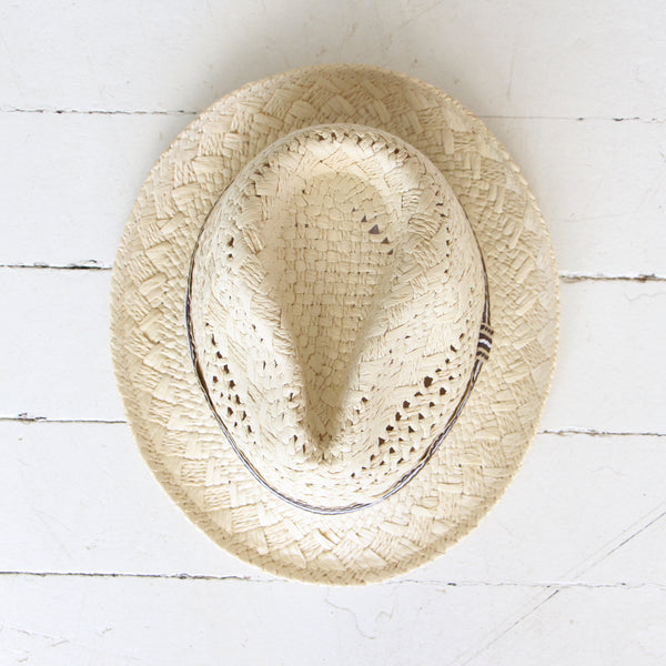 Straw Sunday Hat
