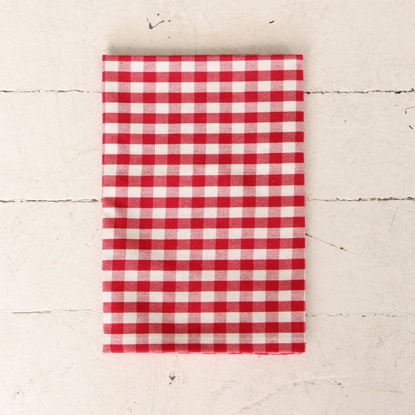 Red Check Gingham Napkin