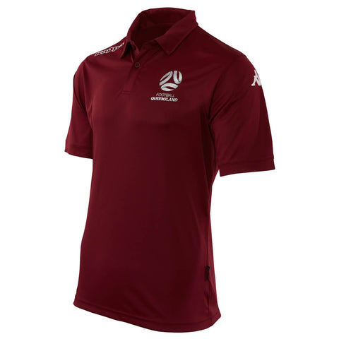 Official Referee Polo - Maroon