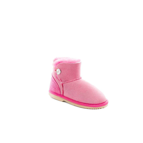 Children's Long Boots - Fuchsia/Cobalt