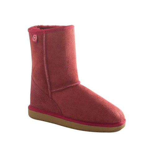 Brighton Mini Boots - Ruby
