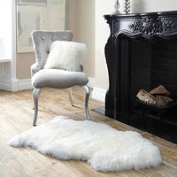 Long Merino Sheepskin Rug - Natural