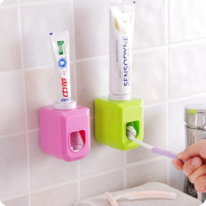 Touch Automatic Auto Squeezer Toothpaste Dispenser Hands Free Squeeze out