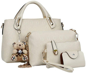luxury women bag 4 piece set