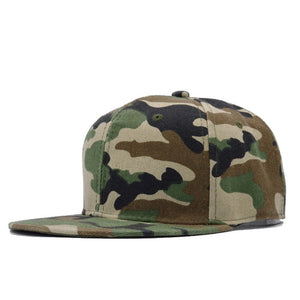 Military Tactical Camouflage Snapback Bone Trucker Hat