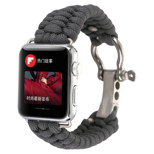 Outdoors Sports Wrist Strap For Apple Watch