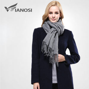 Winter Women Scarf Cotton Solid Scarf
