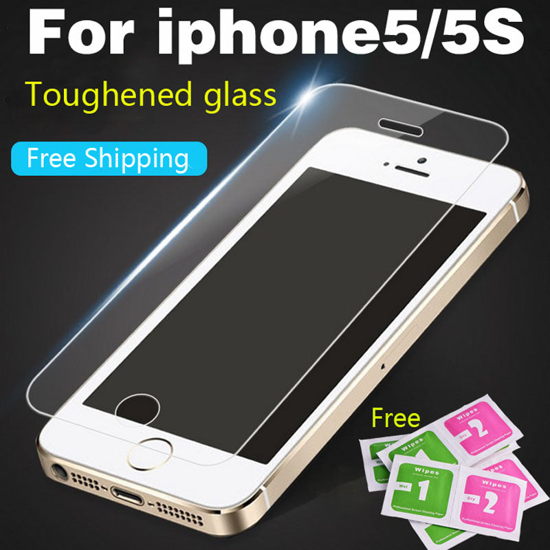 Protective glass for iPhone4S 5 5S SE 6 6S 7 7Plus 8 Premium Tempered Glass Screen Protector HD Toughened Protective Film