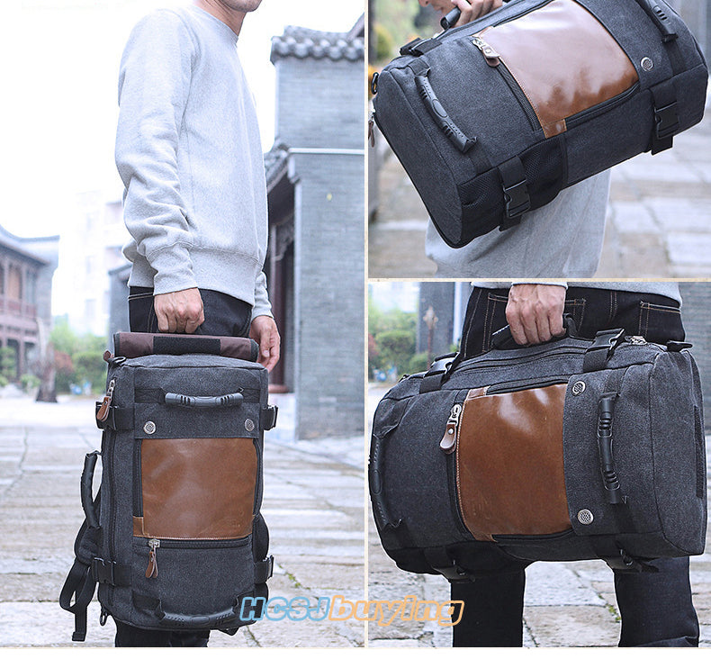 Stylish Travel Large Capacity Luggage Shoulder Bag Computer Backpacking Functional Versatile Bags