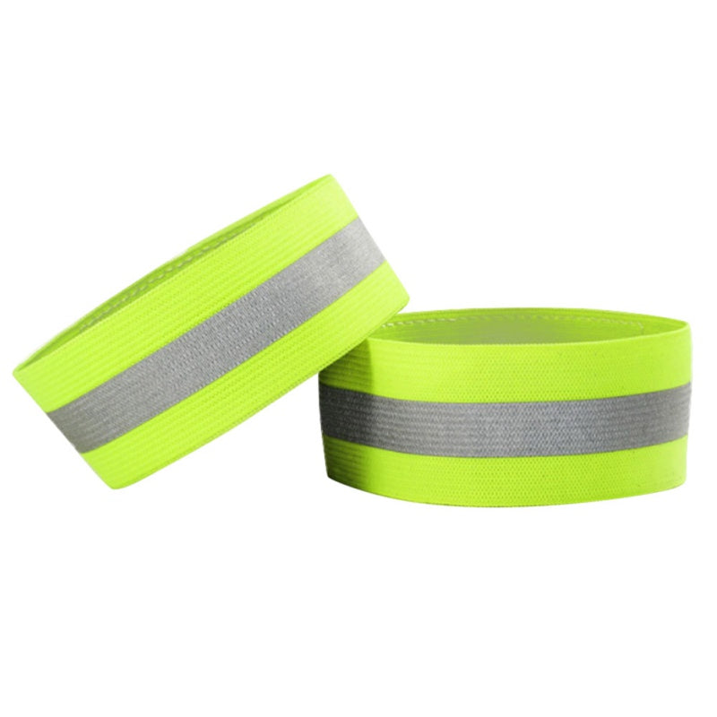 1 Pair Set Outdoor Night Reflective Wrist Ankle Straps