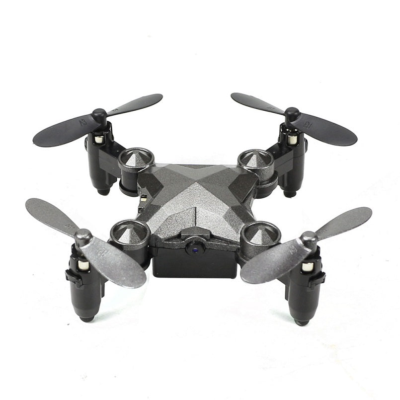 DH-800 Mini Quadcopter Wrist Watch Design Mini Foldable Quadcopter Watch Drone Toys 4 Channel Gyro Aircraft