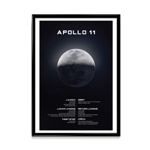 Apollo 11 Mission Print
