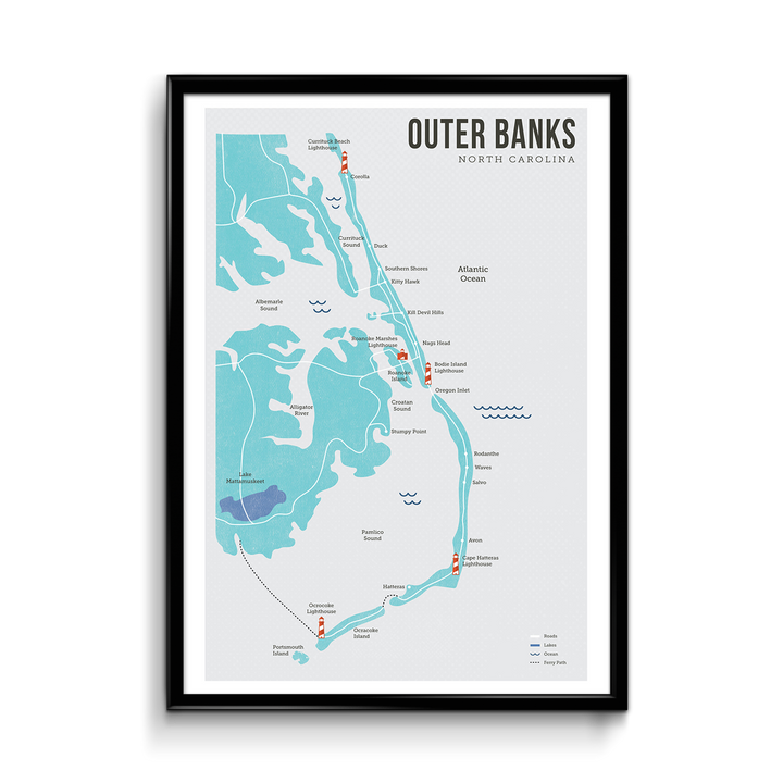 Outer Banks Map