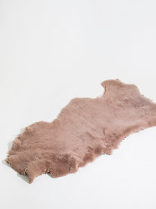 Dusty Rose Shearling