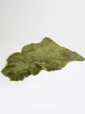 Catnip Green Shearling