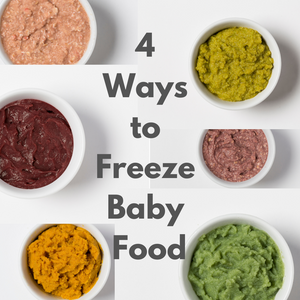 4 Ways to Freeze your Baby Food-Amara Organic Foods