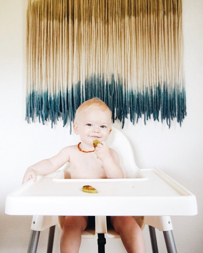 5 Ways to use Puree in Baby Led Weaning