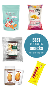 Best On-the-Go Toddler Snacks-Amara Organic Foods