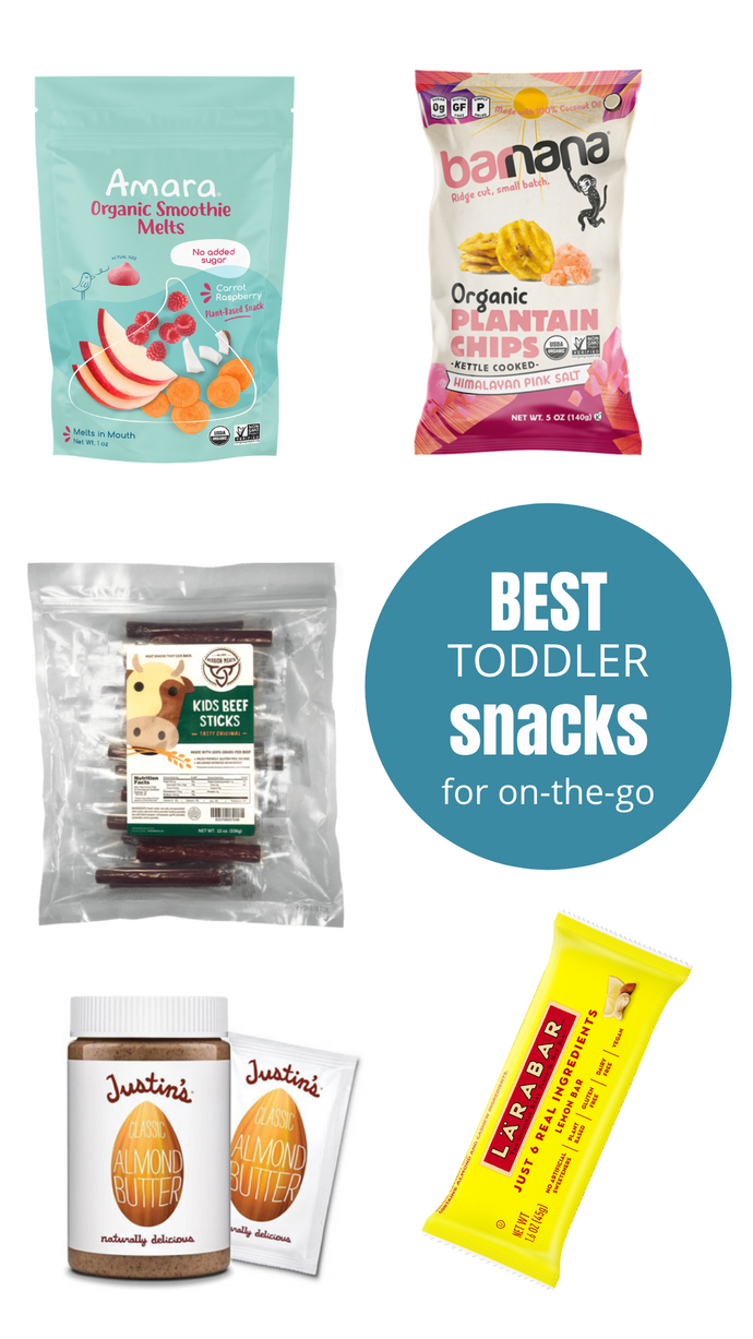 Best On-the-Go Toddler Snacks