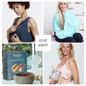 Love and Breast Milk Giveaway-Amara Organic Foods